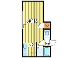 キラメック24[2階]の間取り
