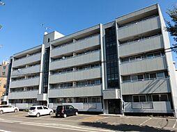 北海道札幌市東区北二十二条東13丁目の賃貸マンションの外観