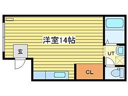 ラファイエN16[4階]の間取り