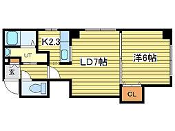 メープルプラザ[2階]の間取り