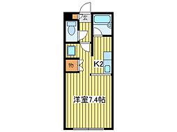 プラスパークN11[1階]の間取り