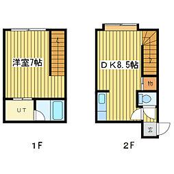 ライフコート元町III[2階]の間取り