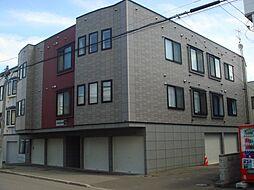北海道札幌市東区北二十七条東12丁目の賃貸アパートの外観
