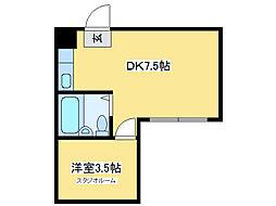 ドレスデン[3階]の間取り