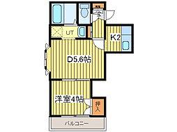 オーシャンビレッジ12[3階]の間取り