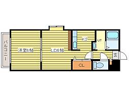 ホクセイマンション[1階]の間取り