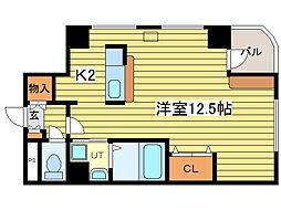 ローヤルハイツ美香保[4階]の間取り