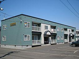 北海道札幌市東区北三十七条東18丁目の賃貸アパートの外観