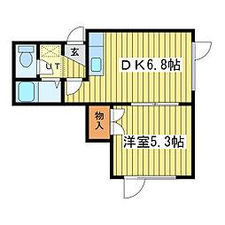 入山AP[2階]の間取り