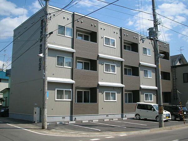 リヴェール新道[3階]の外観