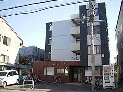 北海道札幌市豊平区平岸三条16丁目の賃貸マンションの外観