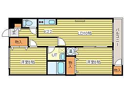 マイドリーム5[4階]の間取り