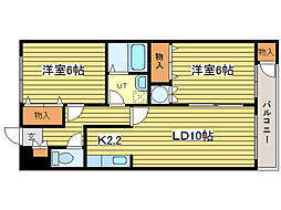 マイドリーム5[3階]の間取り