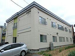 栄ヶ丘ハイツA棟[2階]の外観