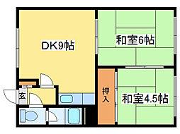 第1はまなすマンション(東棟)[1階]の間取り
