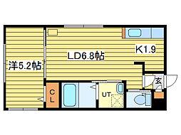 セルマ元町[2階]の間取り