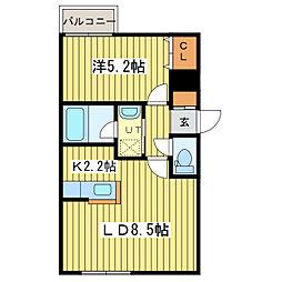 CITY-MODE・N25[4階]の間取り