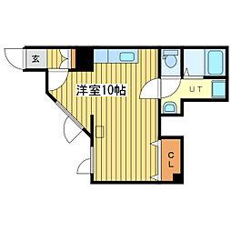 HOMES 13[1階]の間取り