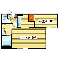 Y's札幌[3階]の間取り