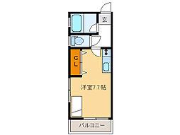 ムーンライト 旭[2階]の間取り