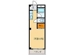 フォレストパーク[2階]の間取り