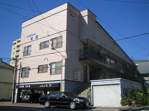 北海道北見市北一条東3丁目の賃貸アパートの外観
