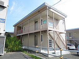 北海道北見市北進町5丁目の賃貸アパートの外観