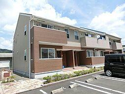 鹿児島県霧島市隼人町松永1丁目の賃貸アパートの外観