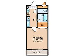 メゾンYOU&I[2階]の間取り