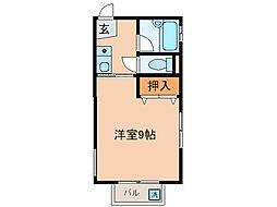 ドム・ハリマ[1階]の間取り