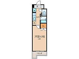 アートプラザ124[4階]の間取り