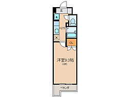 アートプラザ124[5階]の間取り
