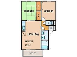 リアルコンフォート[1階]の間取り