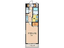 メゾン草津[3階]の間取り