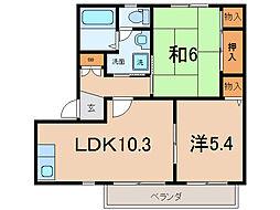 プリマベーラ21[2階]の間取り