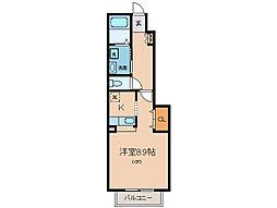 スイートハウス藤I・II[1階]の間取り