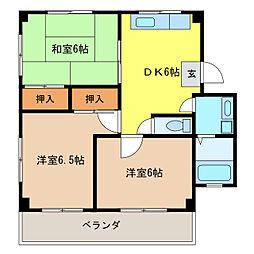プレアール江南I[3階]の間取り