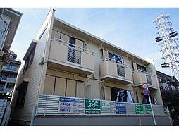 東京都足立区中川3丁目の賃貸アパートの外観