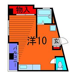 スズキビル[4階]の間取り