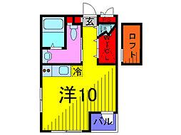 ロシェ錦糸町[1階]の間取り
