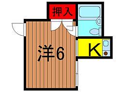 東和ハウス[2階]の間取り