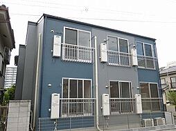 東京都足立区大谷田1丁目の賃貸アパートの外観