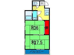 第二並木ビル[2階]の間取り