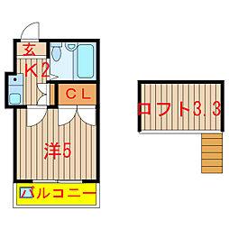 高根公団駅 2.5万円