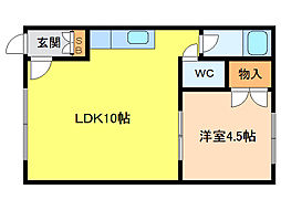 恵庭駅 2.5万円