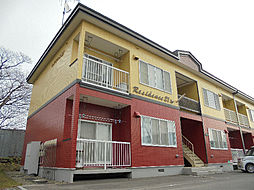 北海道亀田郡七飯町大中山2丁目の賃貸アパートの外観