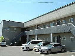 北海道亀田郡七飯町大川2丁目の賃貸アパートの外観