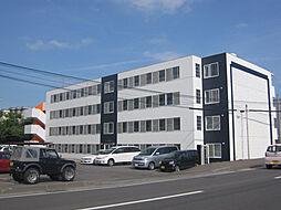 北海道函館市桔梗4丁目の賃貸マンションの外観