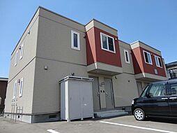 北海道亀田郡七飯町字鳴川町の賃貸アパートの外観
