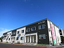 北海道函館市神山1丁目の賃貸アパートの外観
